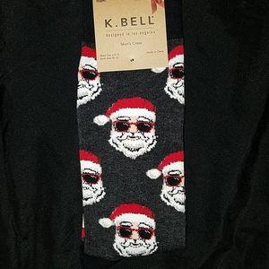 🧦 Cool Santa Christmas Socks